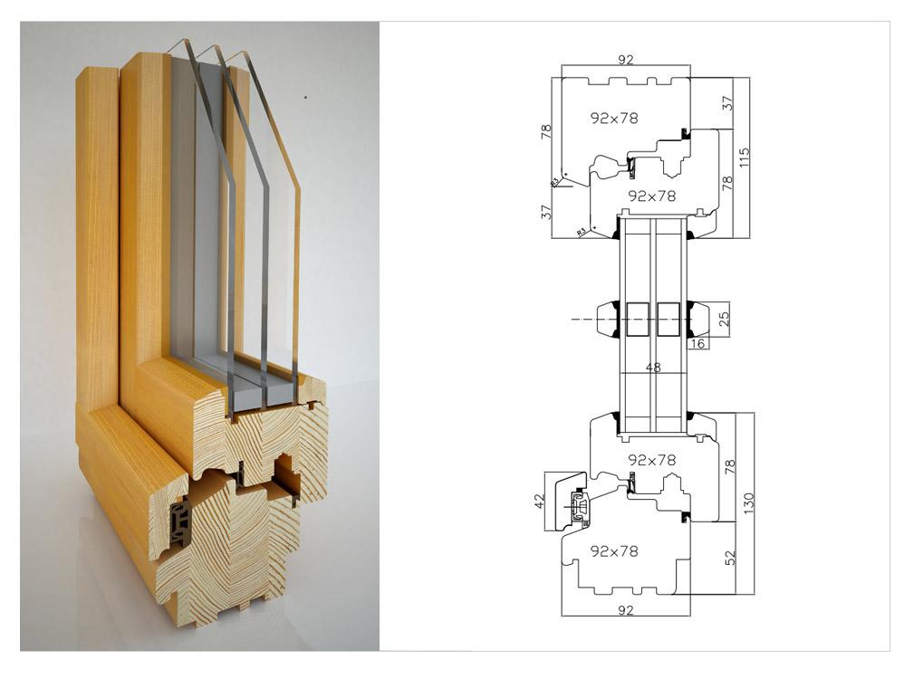Изготовление деревянных окон со стеклопакетами своими руками
